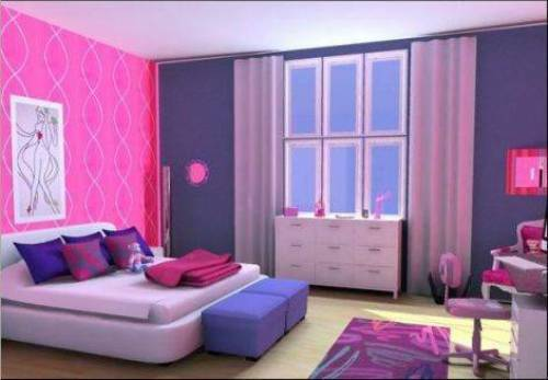 bedroom furniture for a teenage girl photo - 1