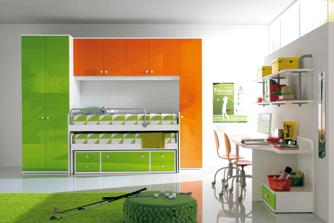 bedroom furniture for kids room photo - 3
