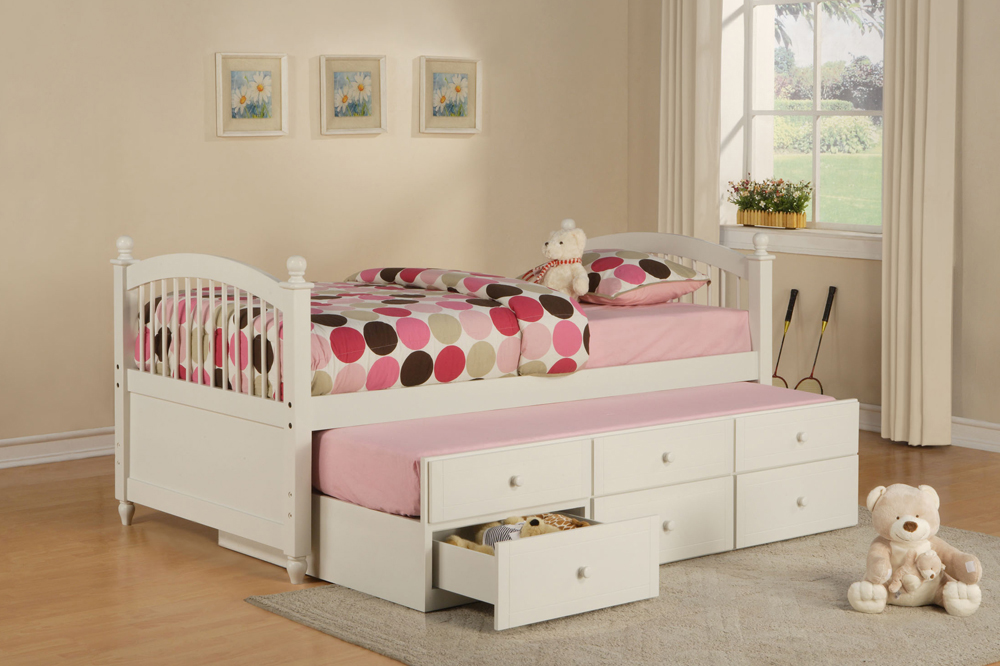 bedroom furniture for twin girls photo - 3