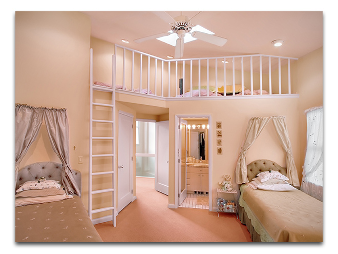 bedroom furniture for twin girls photo - 5