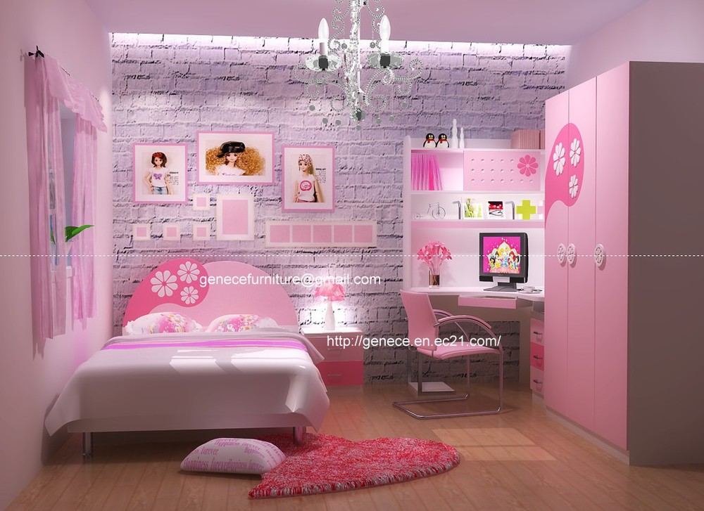 bedroom furniture for twin girls photo - 6