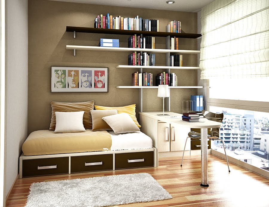 bedroom furniture ideas for small spaces photo - 5