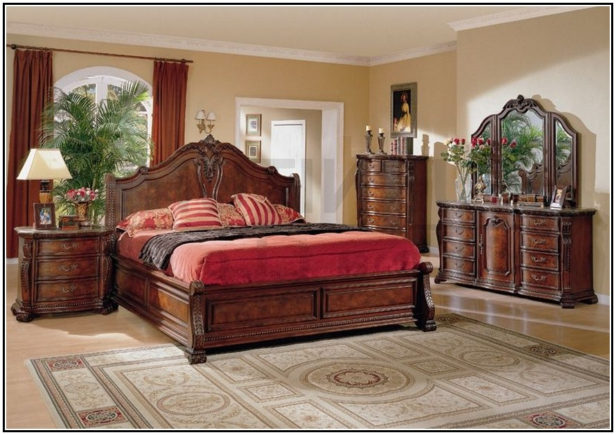 bedroom furniture sets king photo - 4