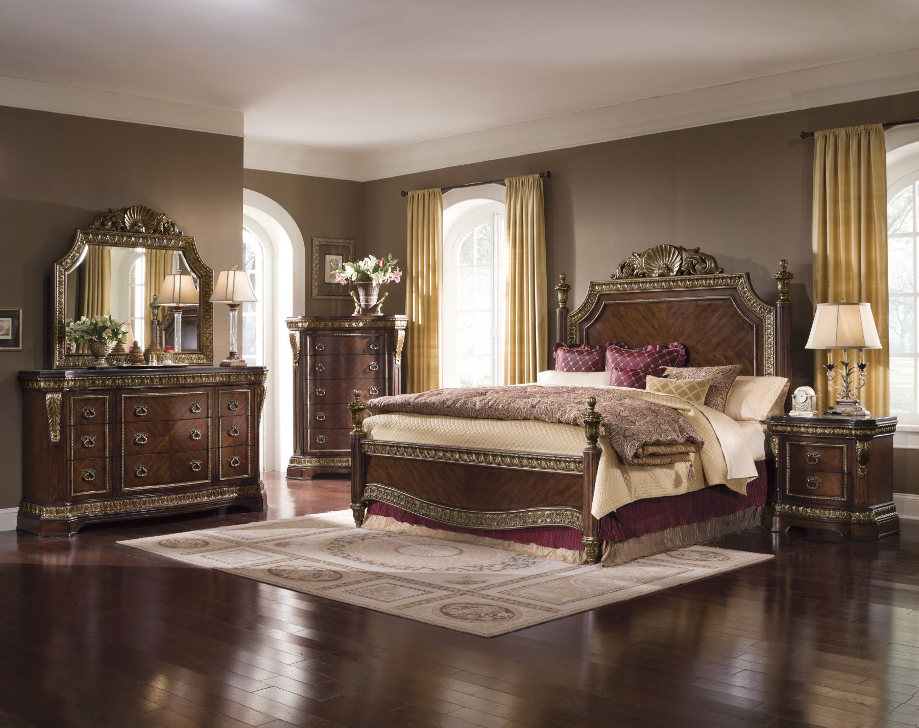 bedroom furniture sets king photo - 6