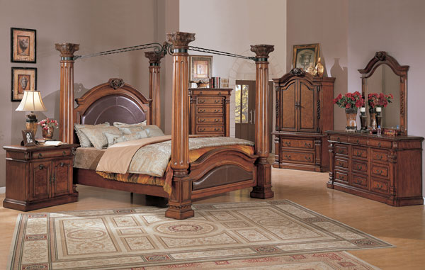 bedroom furniture sets king size bed photo - 4