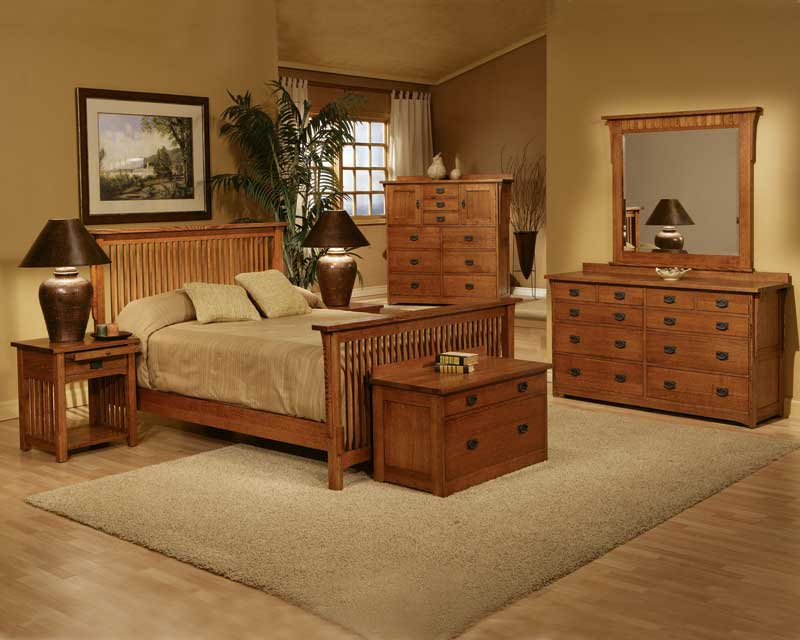 bedroom furniture sets oak photo - 2