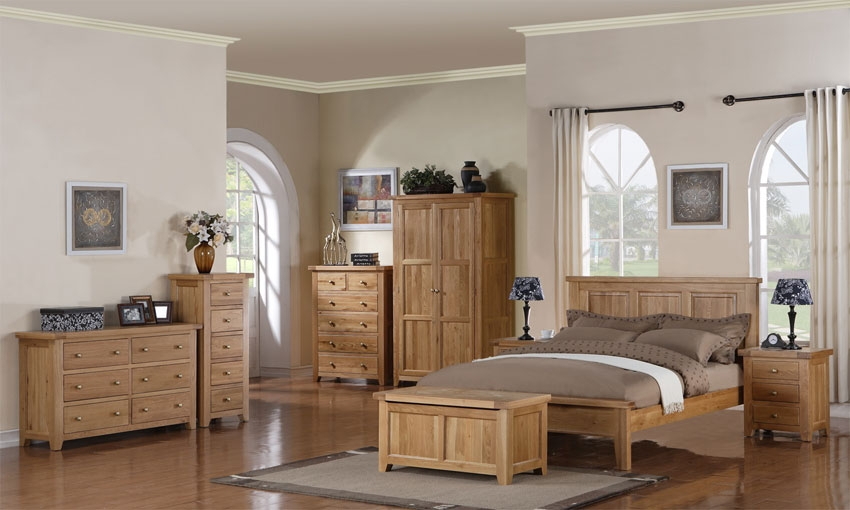 bedroom furniture sets oak photo - 6