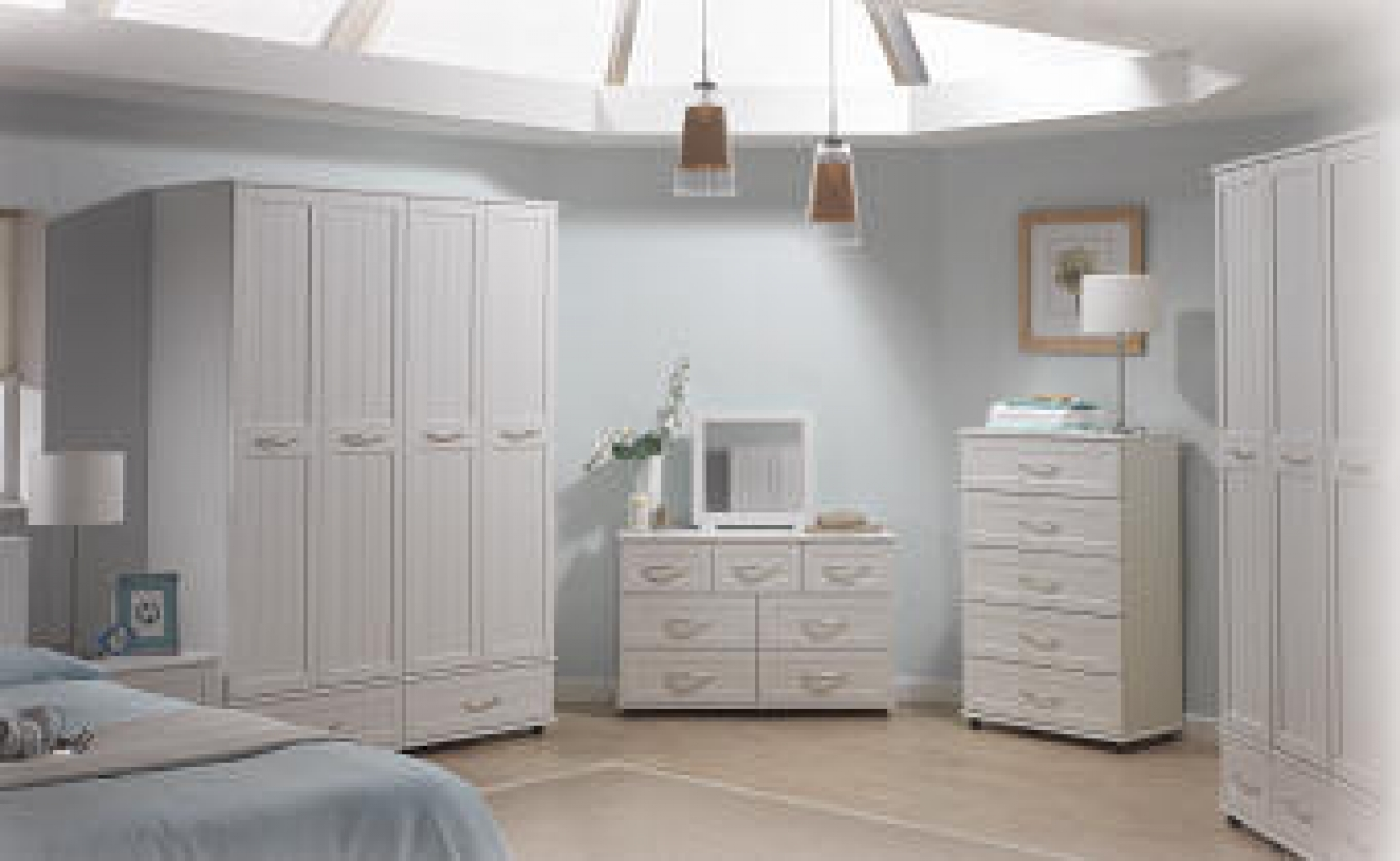 bedroom furniture sets white photo - 4