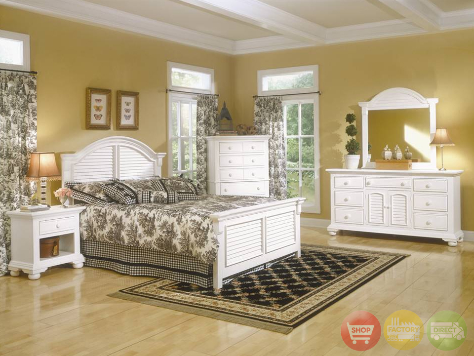 bedroom furniture sets white photo - 5