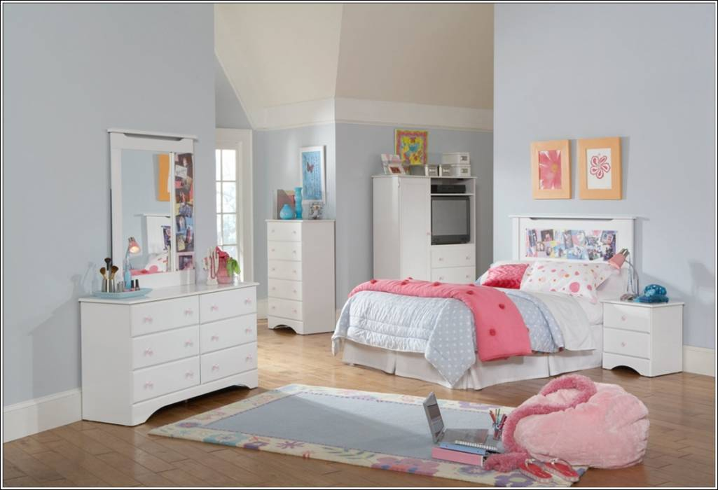 bedroom furniture sets white photo - 6