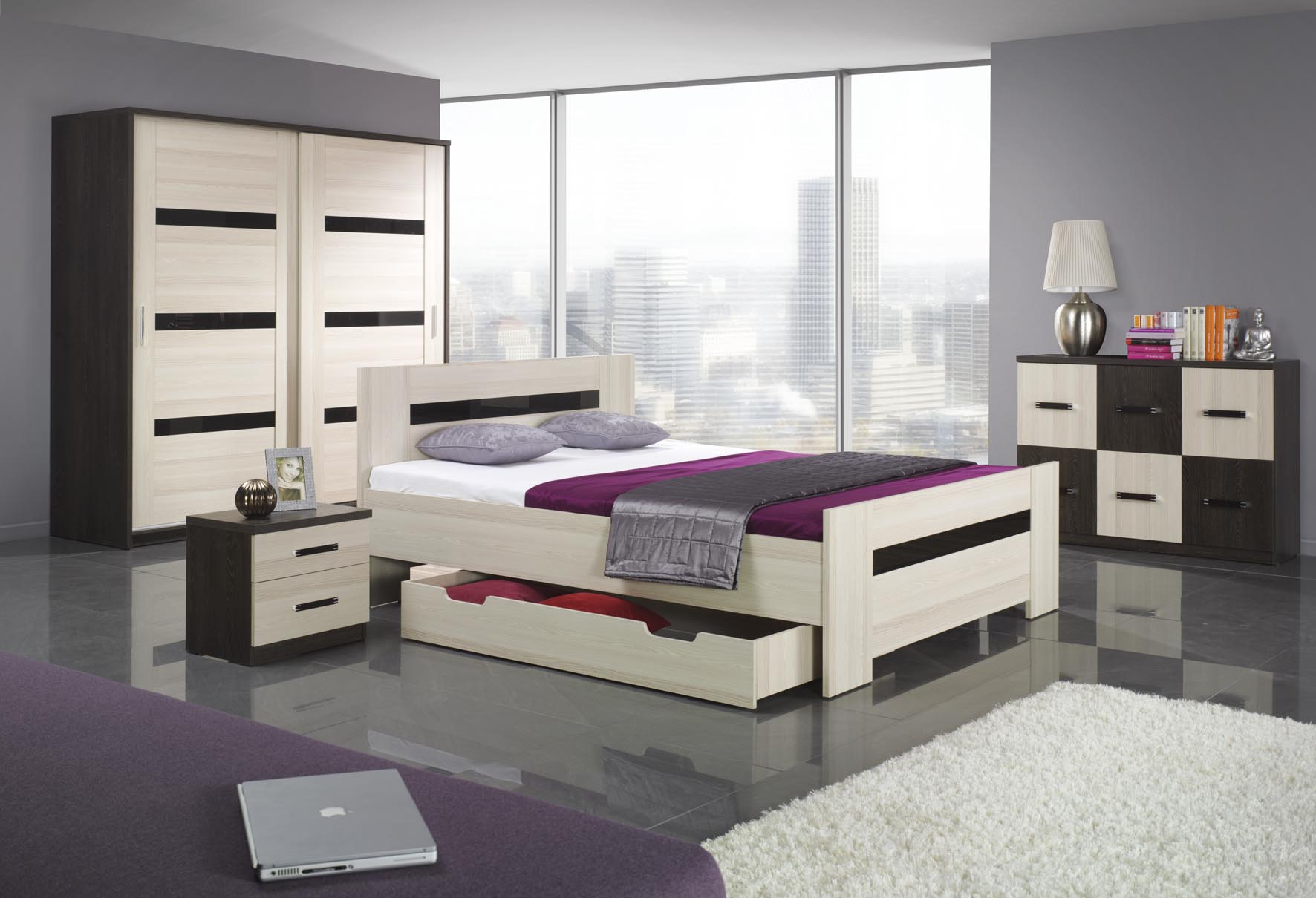 bedroom furniture sets with bed photo - 2