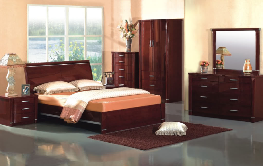 bedroom furniture sets with bed photo - 3