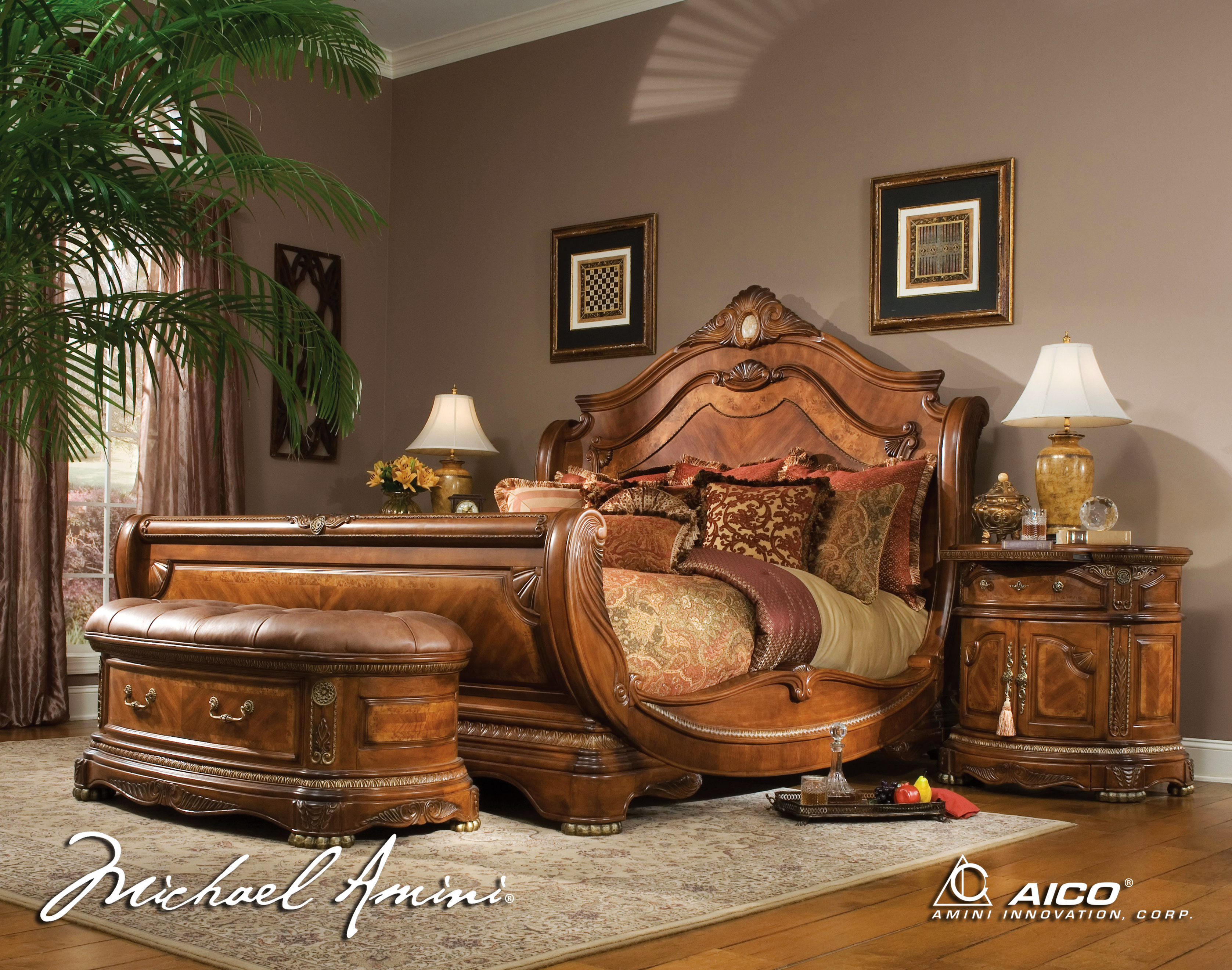 bedroom furniture sets with bed photo - 5