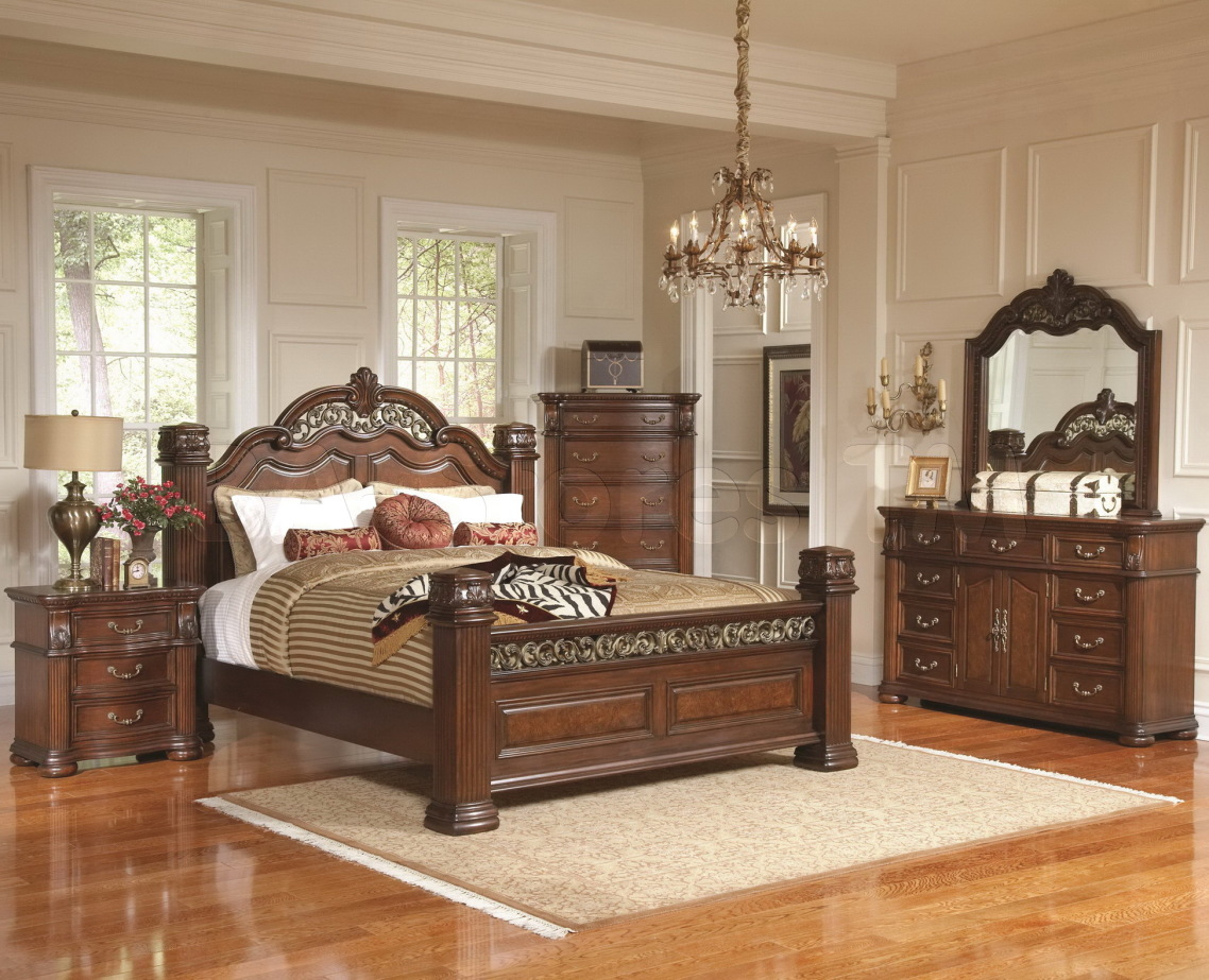 Bedroom sets without bed light brown wooden bed with for Bedroom sets without bed