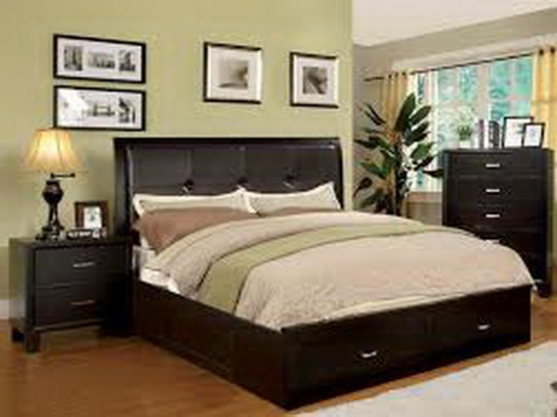 bedroom ideas black furniture photo - 6