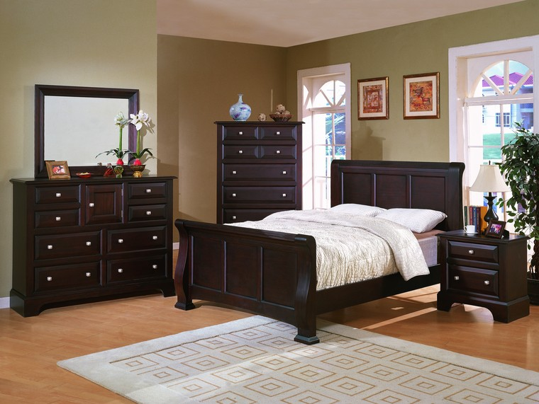 bedroom ideas brown furniture photo - 3