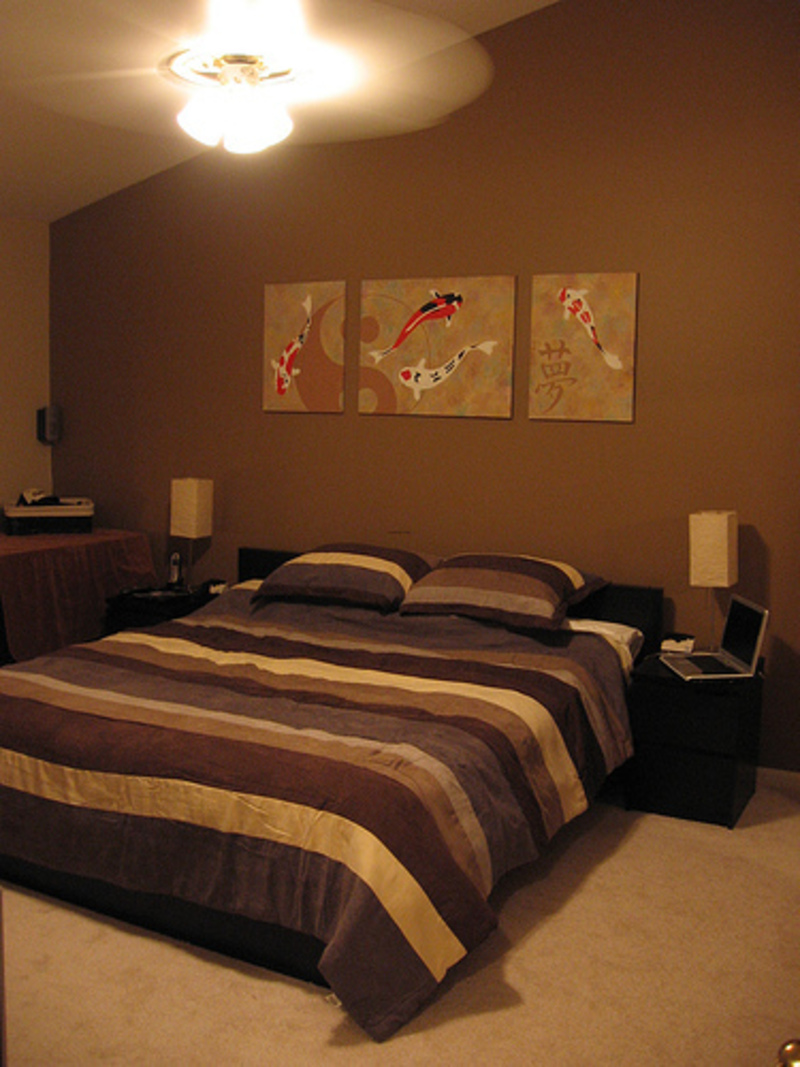 bedroom ideas brown furniture photo - 4