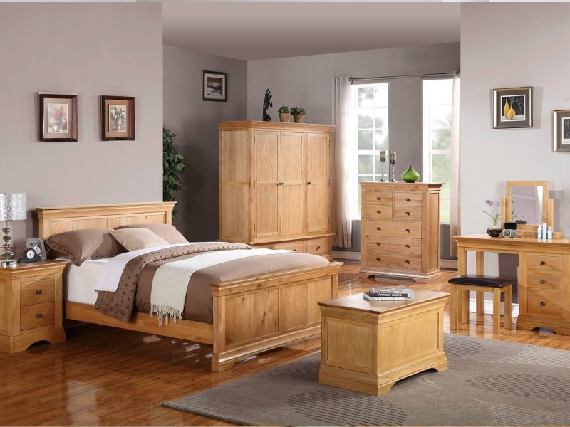 bedroom ideas oak furniture photo - 3