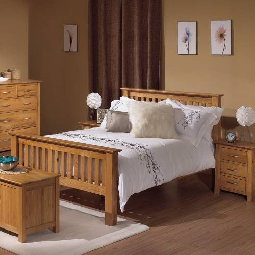 bedroom ideas oak furniture photo - 4