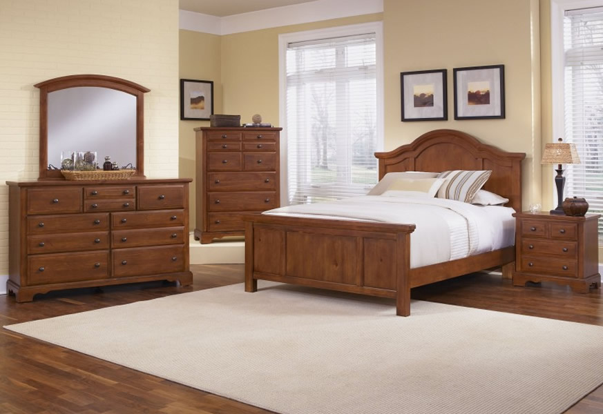 bedroom ideas with pine furniture photo - 2