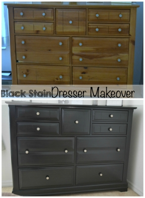 bedroom makeover black furniture photo - 6