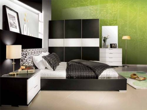 bedroom paint ideas black furniture photo - 1