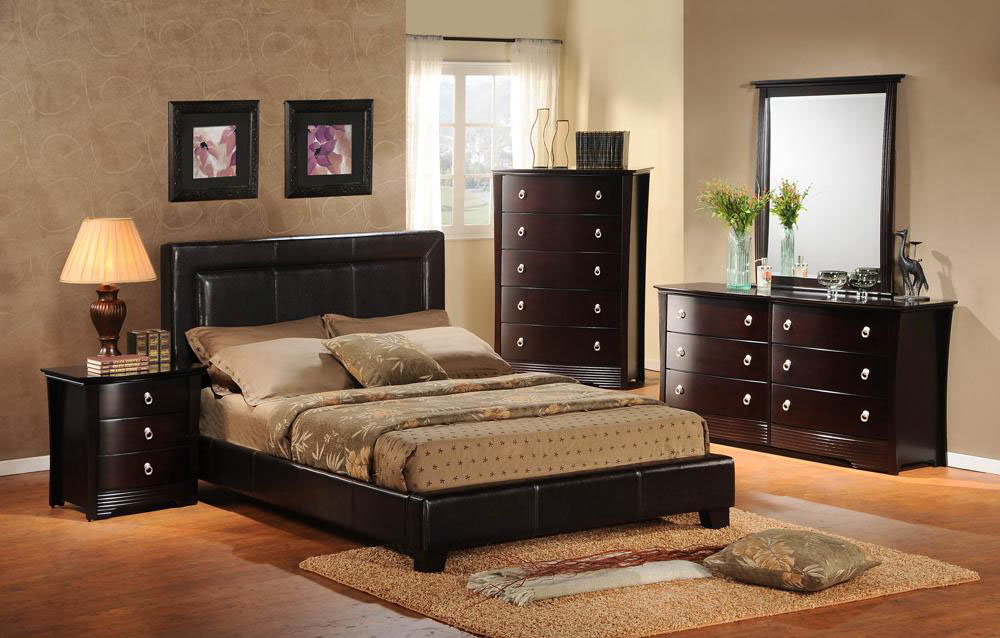 bedroom paint ideas black furniture photo - 5