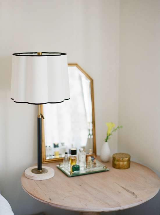bedroom table lamp height photo - 1