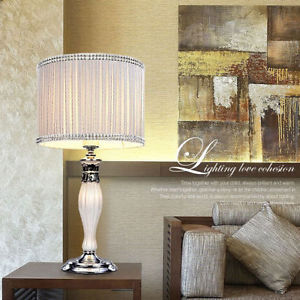 bedroom table lamp height photo - 2