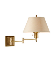 bedroom wall lamp height photo - 3