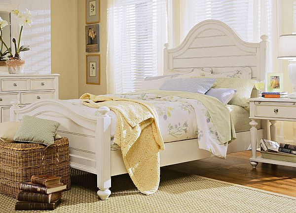 bedroom white furniture decorating photo - 2