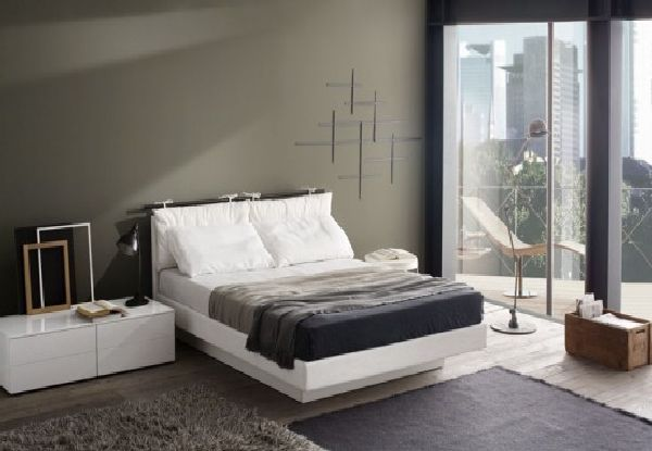 bedroom white furniture decorating photo - 5