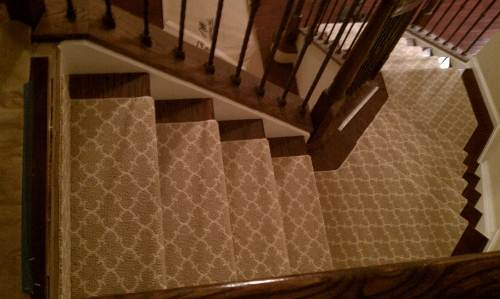 berber carpet runner for stairs photo - 1