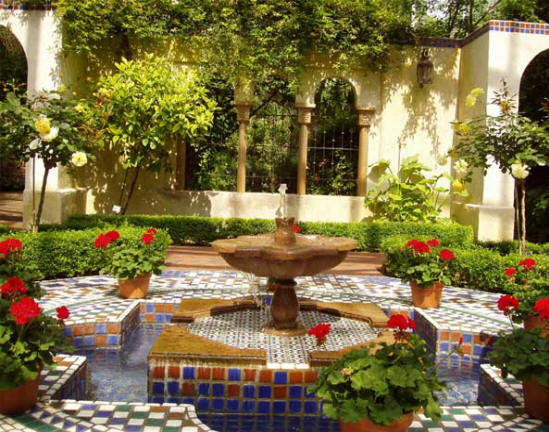 best outdoor garden fountains photo - 1