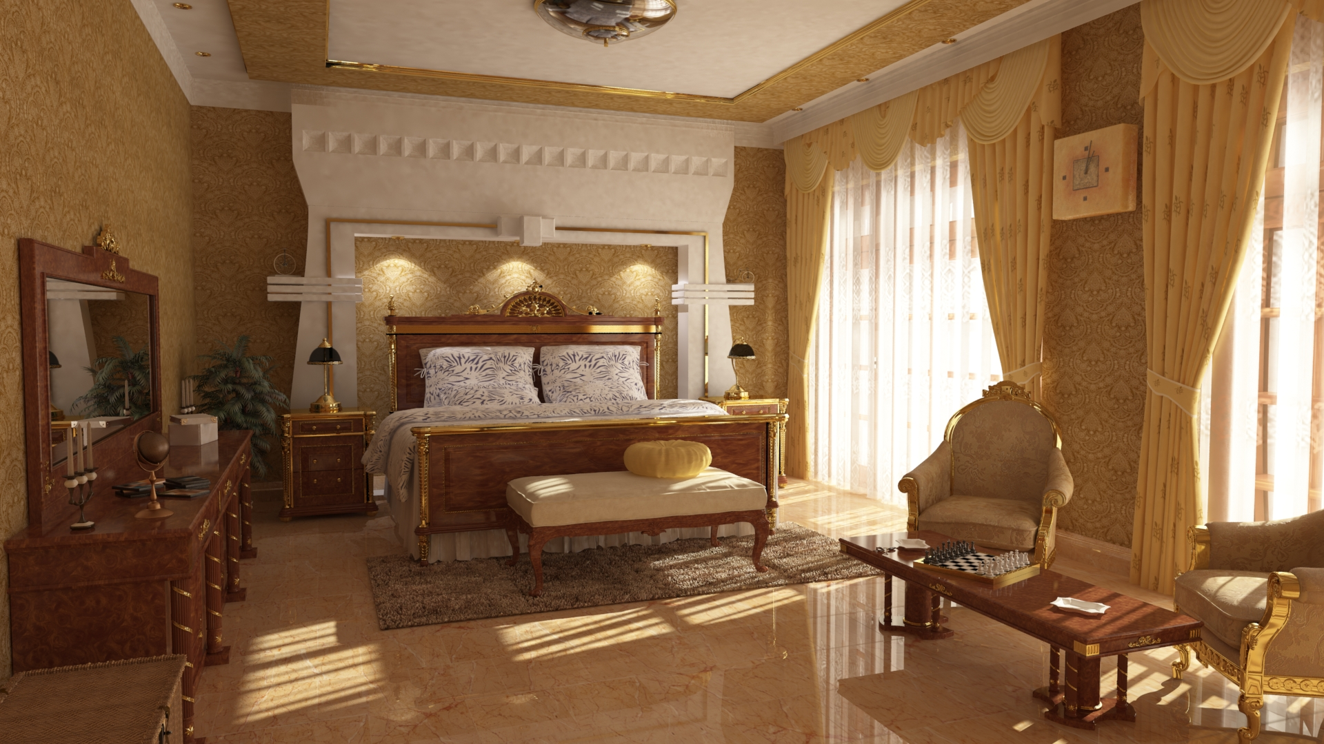 best traditional bedroom designs photo - 1