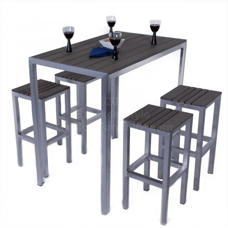 bistro bar sets outdoor furniture photo - 5