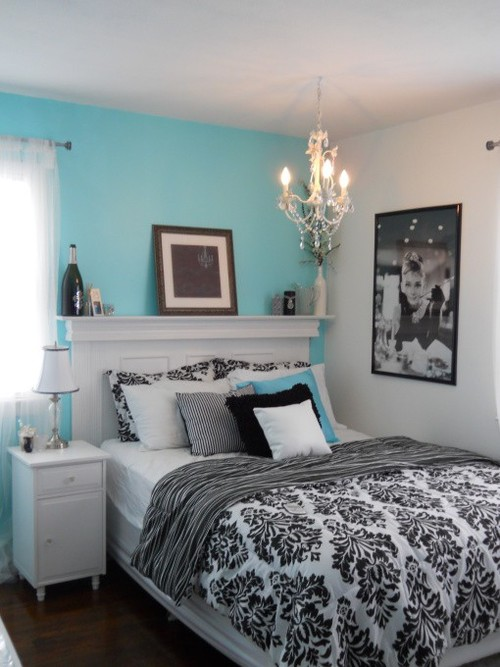 black and white and blue bedrooms photo - 1