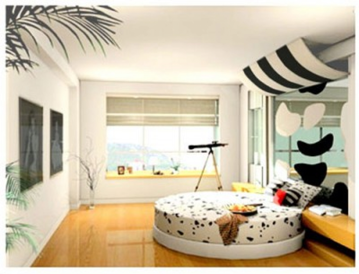 Bedroom designs for girls black - Black And White Bedroom Designs For Girls Photo 3