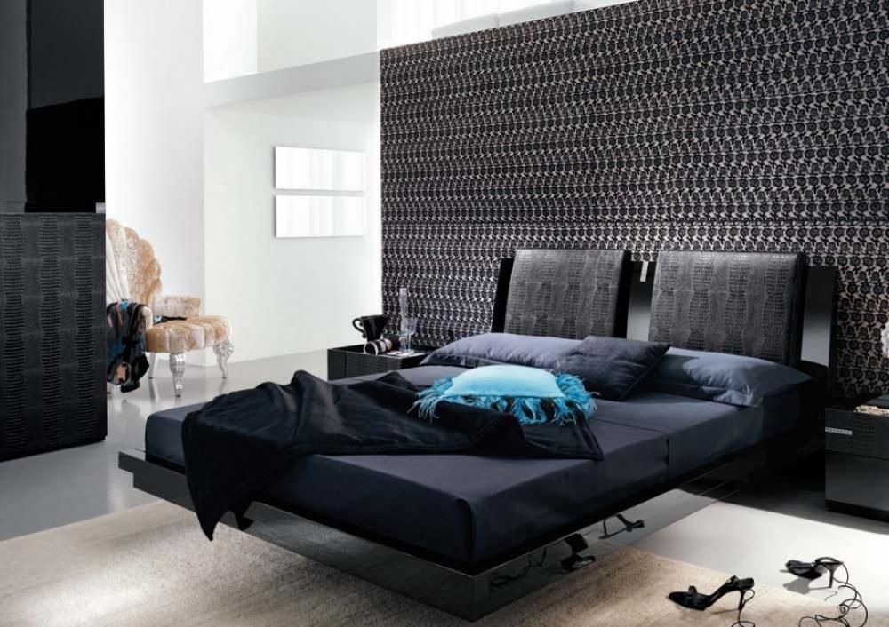 black bedroom furniture design ideas photo - 3