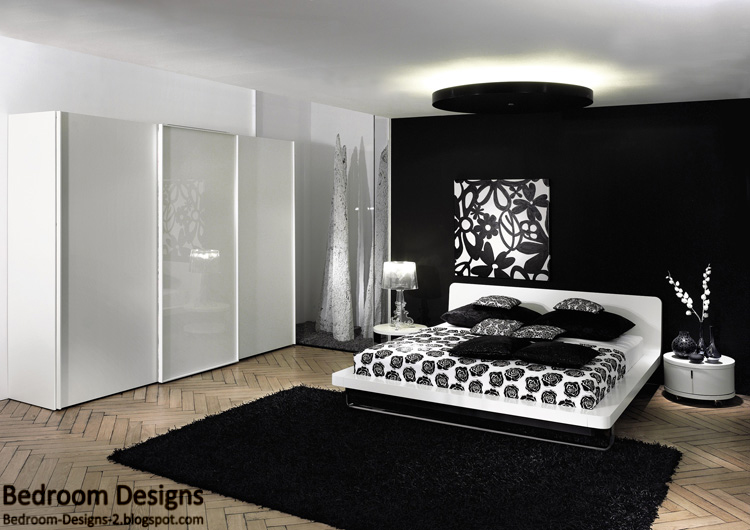 black bedroom furniture design ideas photo - 6