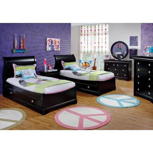 black bedroom furniture for kids photo - 1