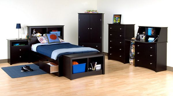 black bedroom furniture for kids photo - 3