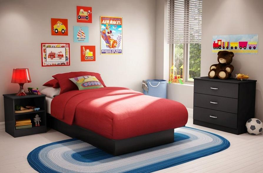 black bedroom furniture for kids photo - 4