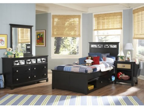 black bedroom furniture for kids photo - 5