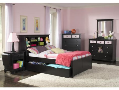 black bedroom furniture for kids photo - 6