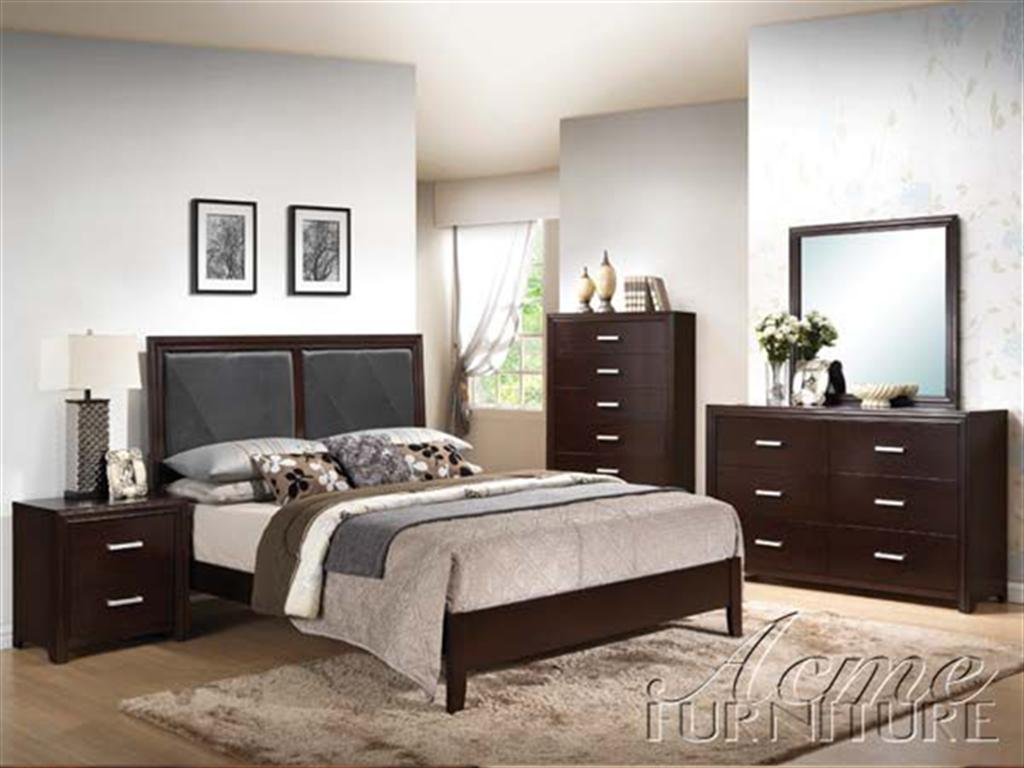 black bedroom furniture queen photo - 3