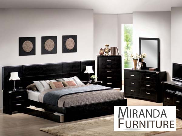 black california king bedroom furniture sets photo - 4