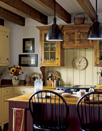 black country kitchen cabinets photo - 1