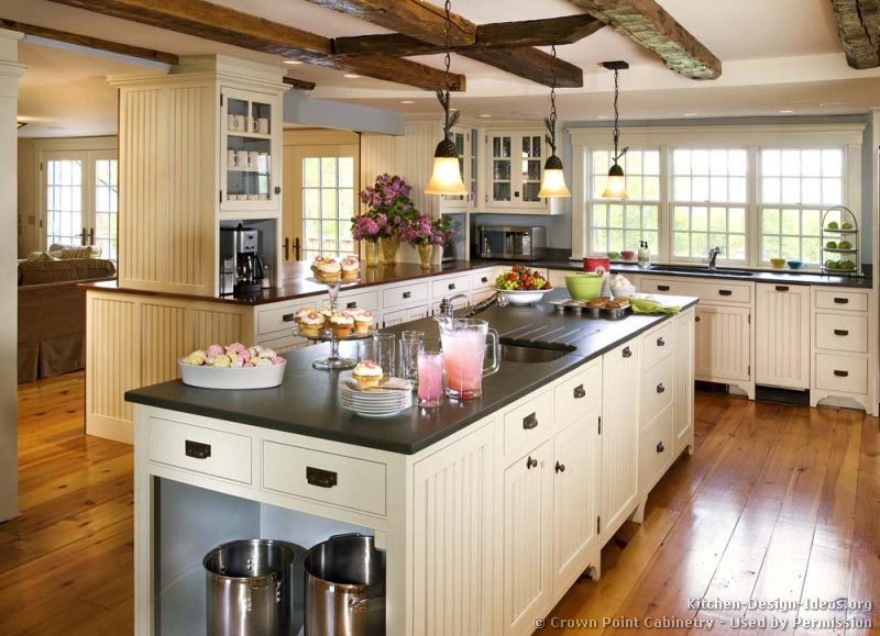 black country kitchen cabinets photo - 4