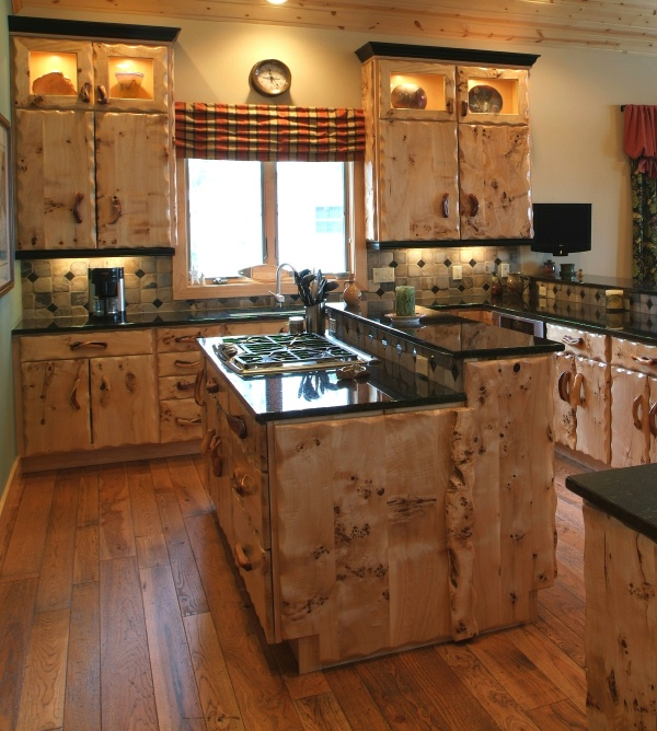 black country kitchen cabinets photo - 5